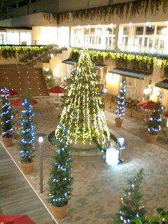 クリスマス・イルミネーション(トレッサ横浜)