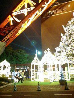 クリスマス・イルミネーション(東京タワー)