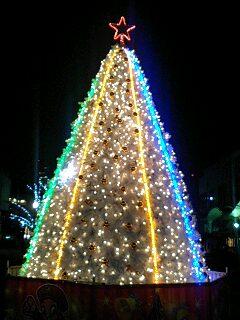 クリスマス・イルミネーション(ジャックモール)