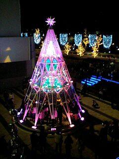 クリスマスイルミネーション(東京ミッドタウン)