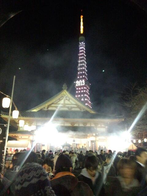 増上寺(東京タワー)