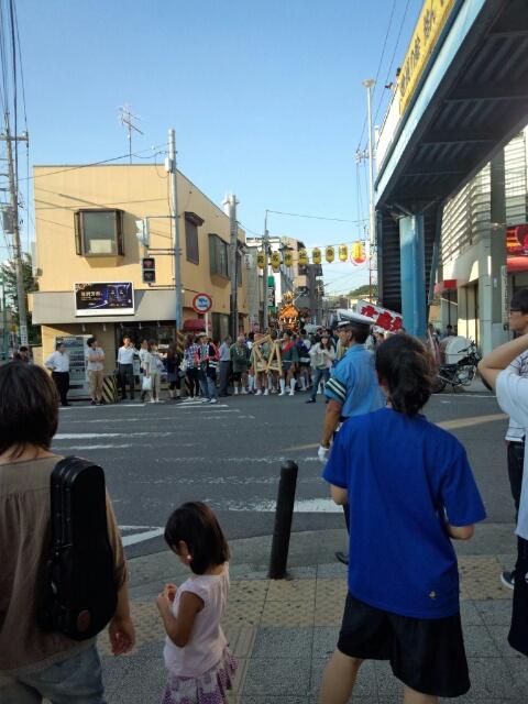 菊名のお祭り