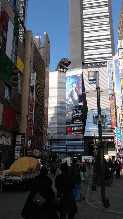 歌舞伎町のゴジラ
